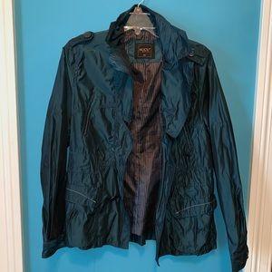 Jackets & Blazers - Teal shiny jacket